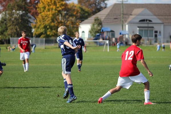 Rovers U14 10-21-12 vs W Hartford