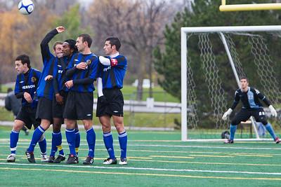 Defendiing a penalty kick