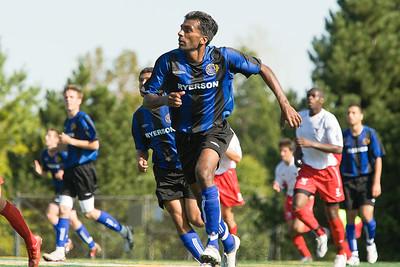 Ryerson moving forward Ryerson moving forward; Midfielder Jonathan Sadacharalingam (MURR8626)