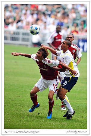SCAA vs Tottenham Hotspur 2009