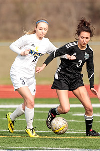 Girls Soccer: SWCHA Saints vs Whitnall Falcons