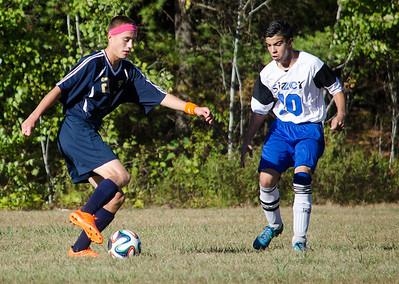 Sizer vs. St.B's soccer 9-24-15