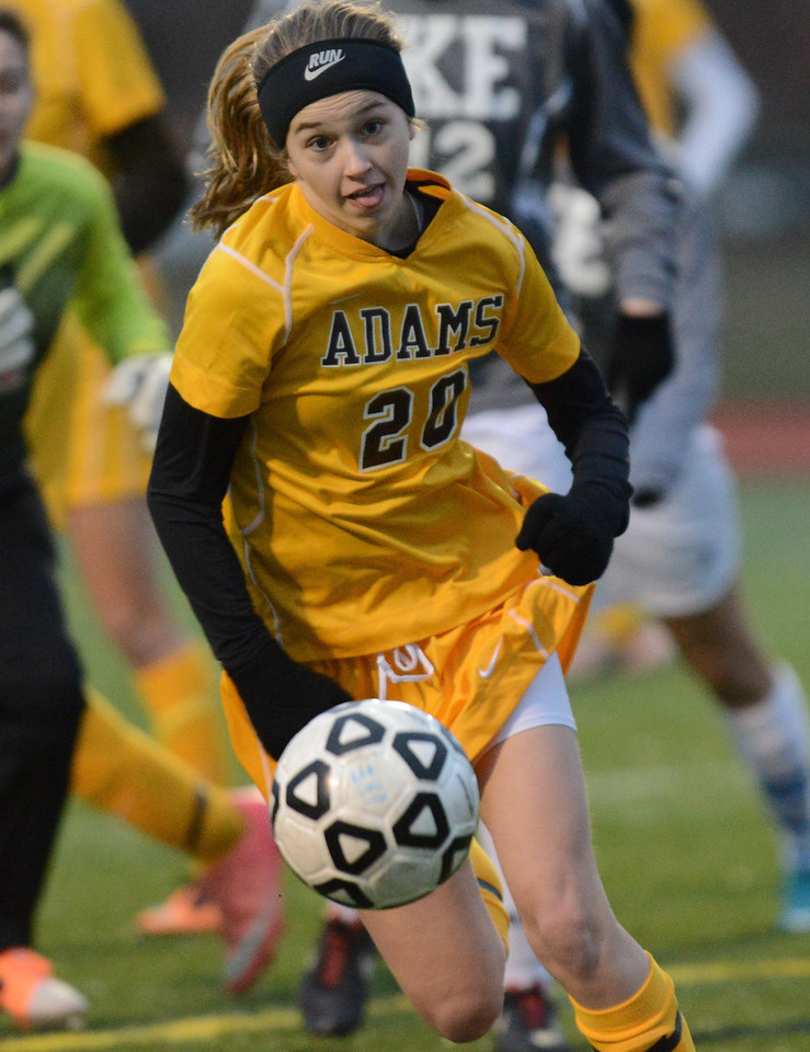 Soccer - Adams HS Varsity Girls 2014