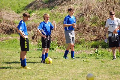 Soccer (Homesley) vs. CSA No. 7