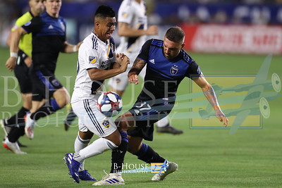 MLS 2019: San Jose Qukes and Los Angeles Galaxy JUL 12