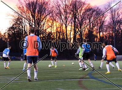 South Lakes @ Yorktown Boys Varsity Soccer (12 Mar 2015)