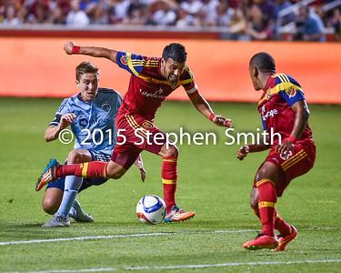 Javier Morales Breaks through SKC enroute to Goal