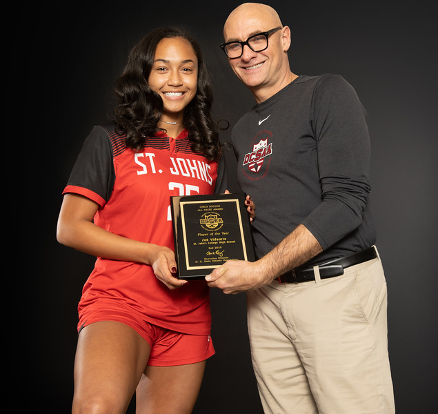 DCSAA All State Coaches and Players of the Year - Fall 2019