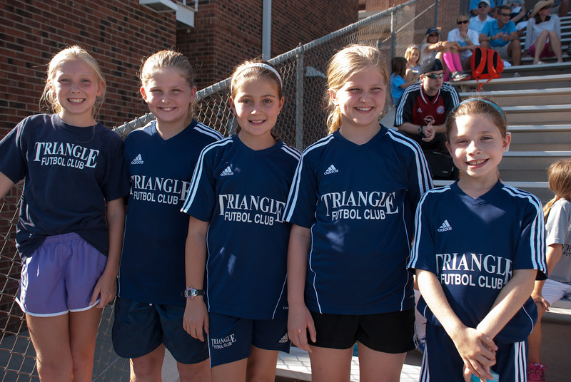 Ball Girls at UNC Women's Soccer 2013-08-30