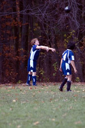 2009.10.31 U12 Soccer