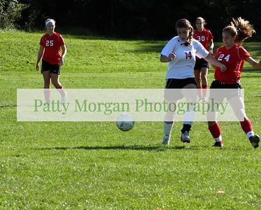 UDHS girls soccer 2011