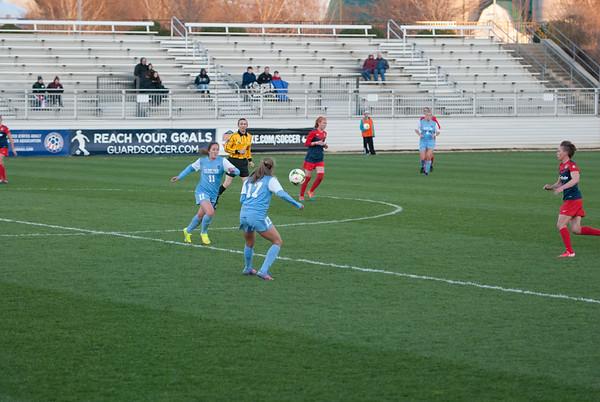 UNC Womens Soccer  vs Washington Spirit 2015-04-04