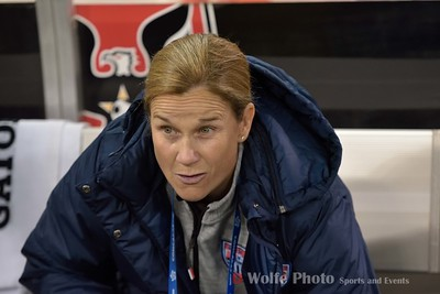 Jill Ellis, US Women's Soccer Coach.