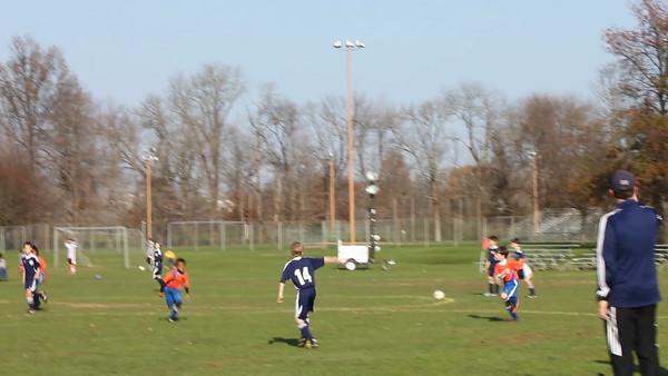 U10 rovers soccer 11-10-12