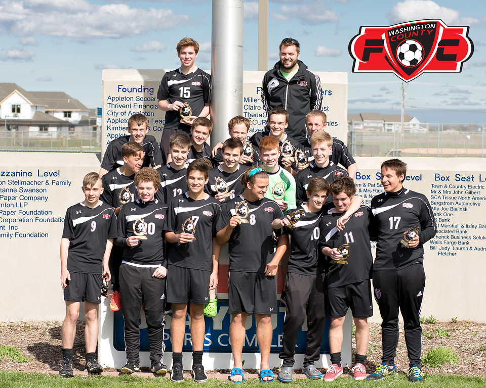 2016 WCFC U18 Select Boys Soccer Team