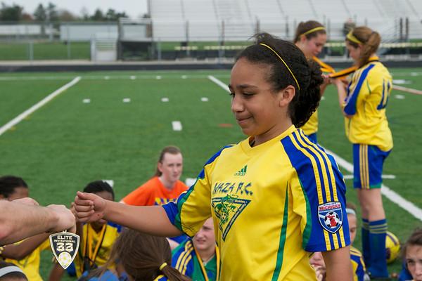 Waza FC U13 Girls Academy