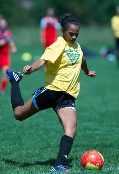 Waza Girls Soccer U15 2012-2013