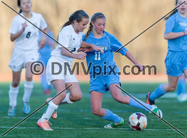 Yorktown @ Langley Girls JV (18 Mar 2015)
