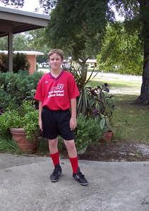 Lars in soccer garb