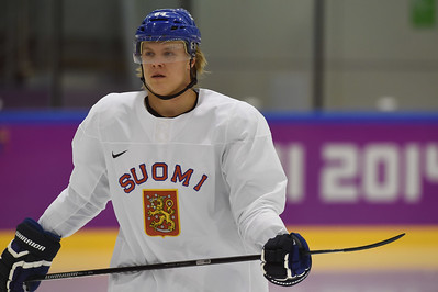Finland men´s ice hockey training 10.2.2014