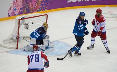 venäjän 1-0 maali