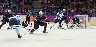22.2.2014 FINLAND-USA ice hockey