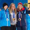 Enni Rukajärvi medal ceremony