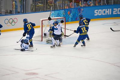 Suomen 1-0 maali