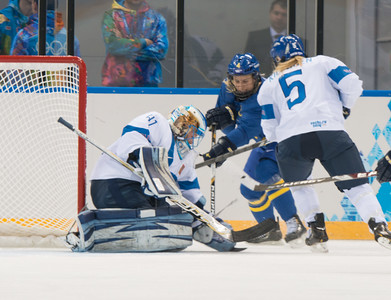 Womens ice hockey finland-sweden