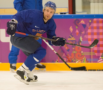 Komarov 18.2 training session