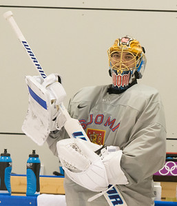 Tuukka Rask 18.2 training session