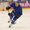 Komarov 18.2 training session