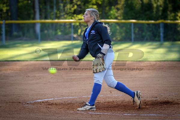 HHA vs CP Softball 4-5-16