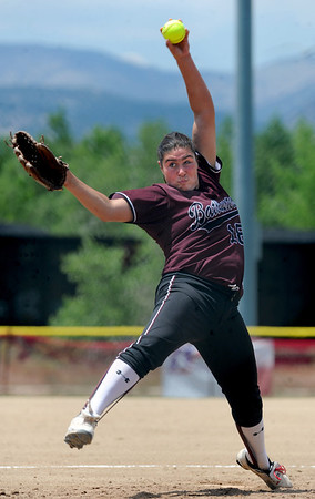 "Taylor MQuillin, of the  California Batbusters, pitches against the SoCal Athletics in the Boulder 18-under championship game on Sunday.<br /> For more photos of the championship games, go to  <a href=""http://www.dailycamera.com"">http://www.dailycamera.com</a>.<br /> Cliff Grassmick / July 1, 2012"