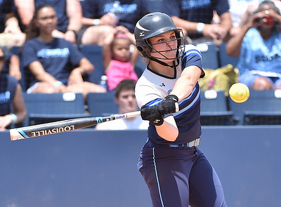 The Enka Sugar Jets took on the Aycock Golden Falcons in game two of the NCHSAA 3A softball championship game held at University of North Carolina at Greensboro Softball Stadium in Greensboro, N.C. on June 4, 2016. Enka wins 3-2 and the State Championship. Photos by Steven Worthy for Maxpreps.