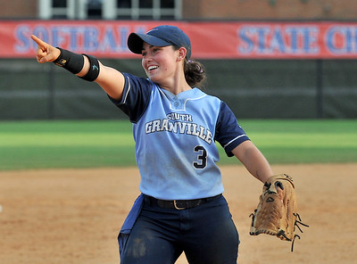 The South Granville Vikings  took on the West Lincoln Rebels  in game three of the NCHSAA 2A softball championship game held at University of North Carolina at Greensboro Softball Stadium in Greensboro, N.C. on June 4, 2016. South Granville wins 10-5 and the State Championship. Photos by Steven Worthy for Maxpreps.