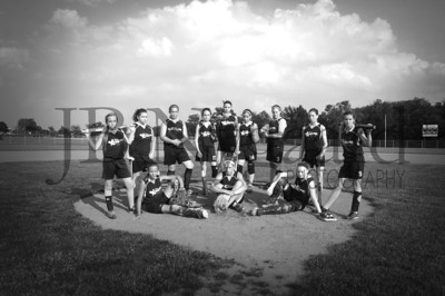 2013 Girls softball travel team-17bw