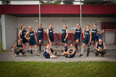 2013 Girls softball travel team-7