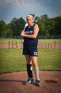 2013 Girls softball travel team-27
