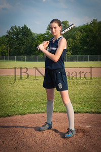 2013 Girls softball travel team-38