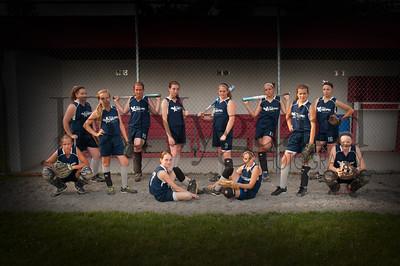 2013 Girls softball travel team-7b