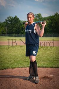 2013 Girls softball travel team-32