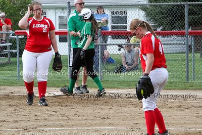 WBHS Softball at Minerva-54
