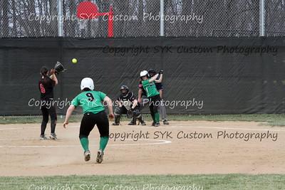 WBHS Softball at Salem-95