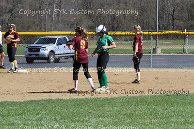 WBHS Softball at SouthEast-10