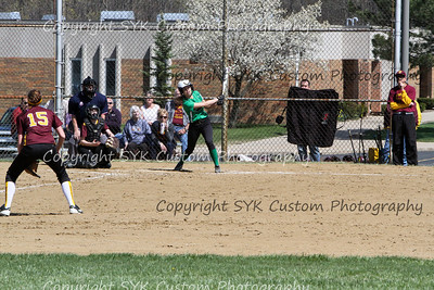 WBHS Softball at SouthEast-36