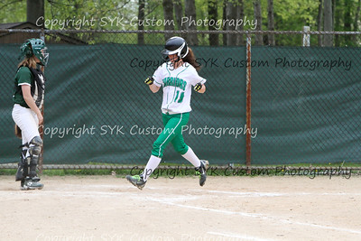 WBHS Softball at Ursaline-66