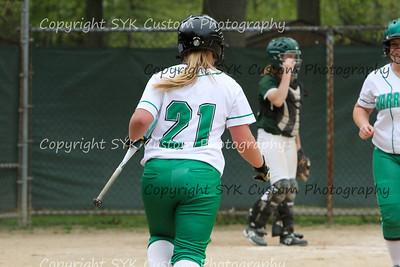 WBHS Softball at Ursaline-49