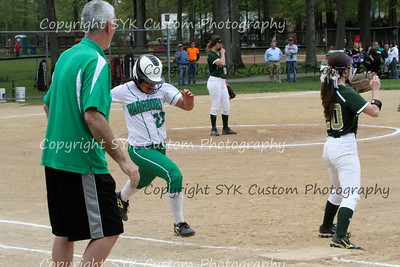 WBHS Softball at Ursaline-8