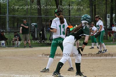 WBHS Softball at Ursaline-79